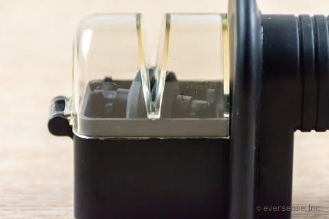 包丁研ぎ器の溝