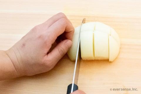 玉ねぎ 切り方 みじん切り チョッパー