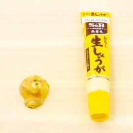 生姜ひとかけはチューブでどれくらい?一片の量は?