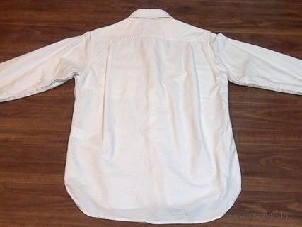 シャツのたたみ方 手順1