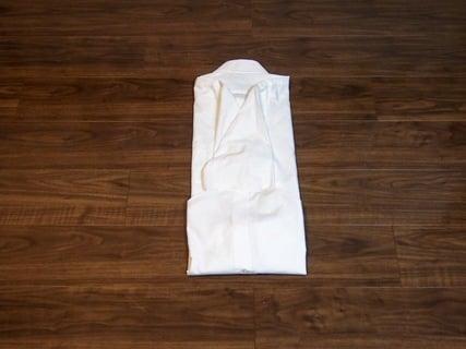ワイシャツのたたみ方 初級5