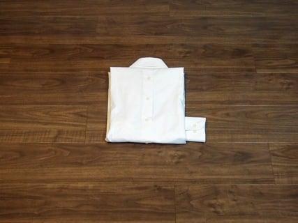 ワイシャツのたたみ方 上級9