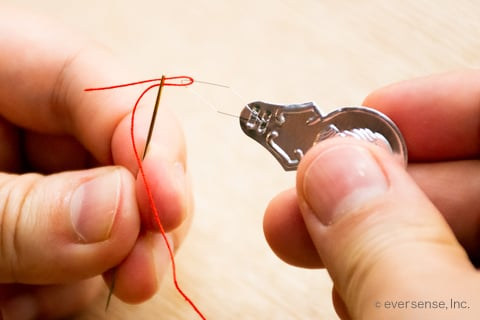 糸 通し やり方 裁縫