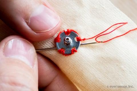 スナップボタン つけ方 裁縫