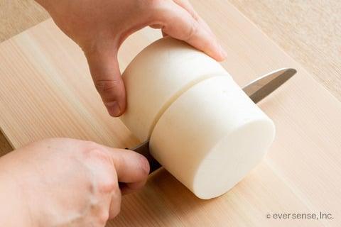 大根 切り方 4〜5cmに切る