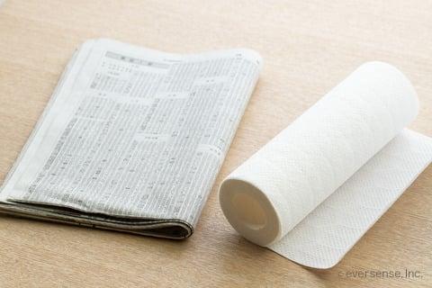 大根 保存 新聞紙 キッチンペーパー