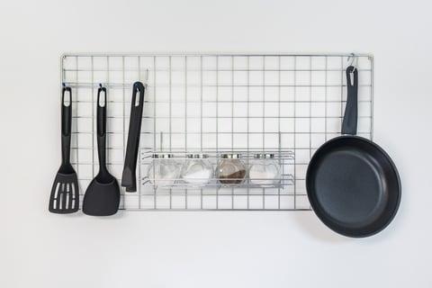 ワイヤーネット 壁掛け キッチン