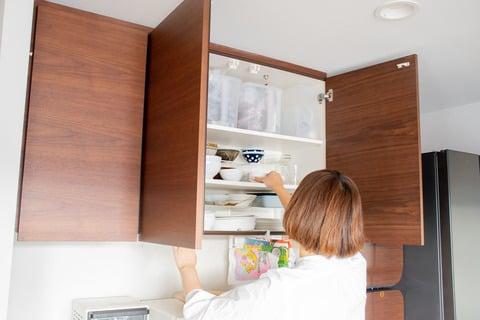 水谷さん 食器棚の整理収納