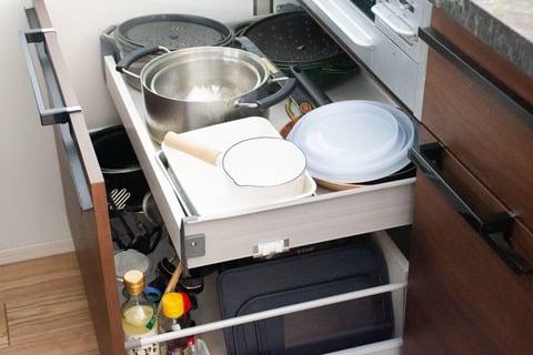水谷さん キッチン下の収納