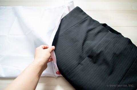 スーツ 洗濯