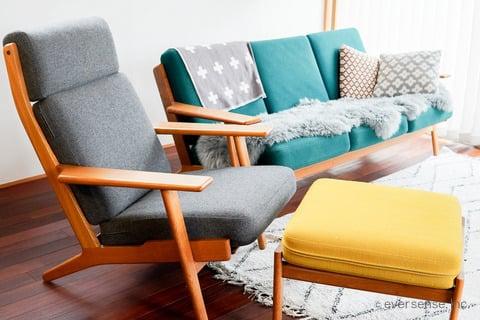 河内さん 足つき家具