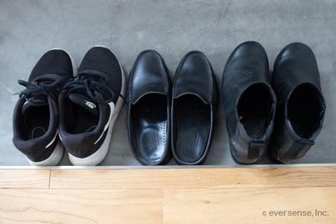 マキさん 靴の種類