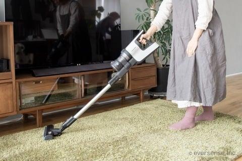 マキさん 掃除風景