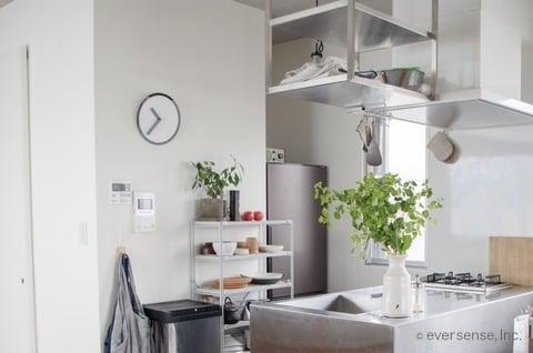 マキさん キッチン風景