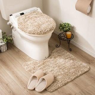 洗浄・暖房用フタカバー&トイレマット2点セット(コンフィIV) ニトリ