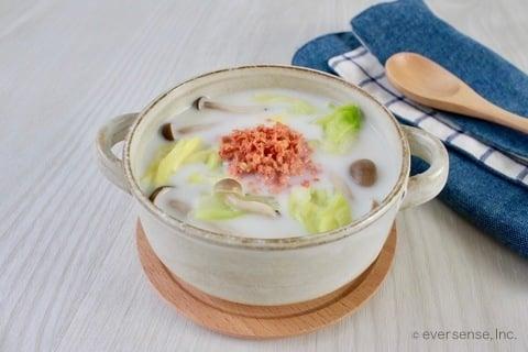 キャベツ スープ キャベツとしめじのスープの作り方