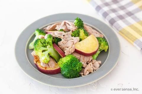 ブロッコリー レシピ ブロッコリーと豚肉の中華炒め