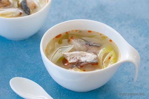 さば缶 スープ レシピ さば缶の酸辣湯風さっぱりスープ