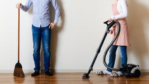 夫婦で家事競争