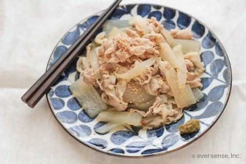 大根 玉ねぎ レシピ 大根と玉ねぎの塩煮