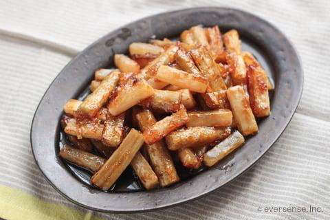 大根 ごぼう レシピ 大根とごぼうの甘辛炒め