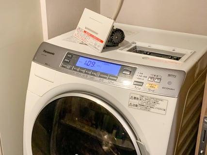 ドラム式洗濯乾燥機 掃除
