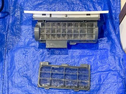 ドラム式洗濯乾燥機 乾燥フィルター掃除