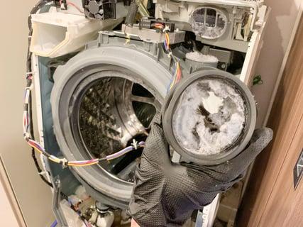 ドラム式洗濯乾燥機 クリーニング業者