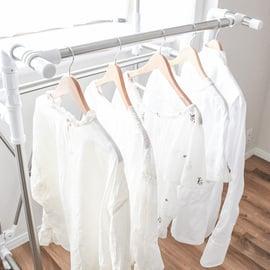 ウタマロ 白シャツ 部屋干し 洗濯