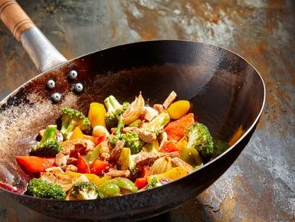 中華鍋 調理