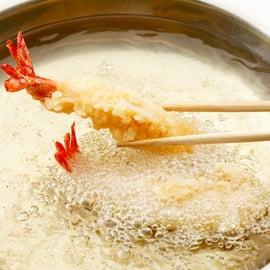 天ぷら鍋 揚げ物 揚げる 調理