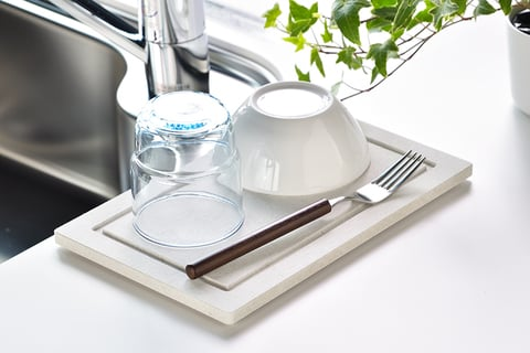 KAWAKI 国産素材吸水トレー シンク上タイプ
