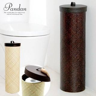 パンダン製トイレットペーパーケース