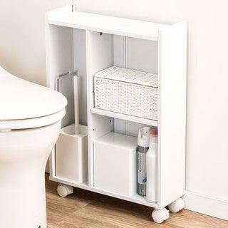 トイレ収納スリムカート フィーノ HP ニトリ