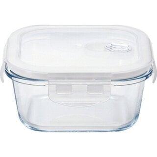 アデリア 耐熱ガラス 4面ロック 密封保存容器