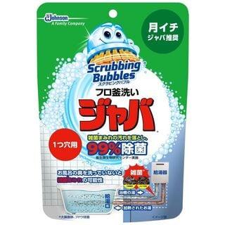 スクラビングバブル 風呂釜洗浄剤 ジャバ 1つ穴用 粉末タイプ