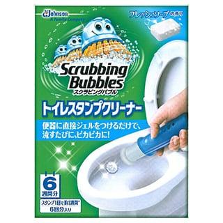 スクラビングバブル トイレ洗浄剤 トイレスタンプ