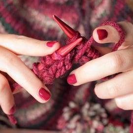 棒針編み 編み方 編み物