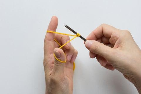 棒針 編み方 編み物 作り目