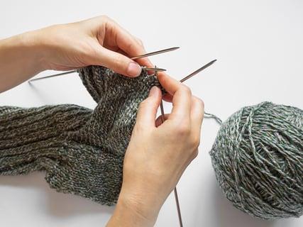 編み物 棒針 棒針編み 編み方
