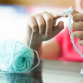 指編み 毛糸 編み物