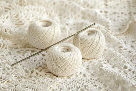 かぎ針 レース編み 編み物 毛糸