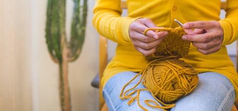 リフ編み かぎ針