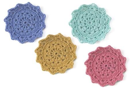 かぎ針編み 編み物 編み方 円編み 裁縫