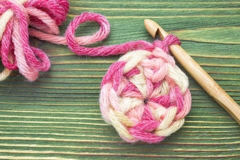 かぎ針編み 編み物 編み方 円編み 段目リング 裁縫