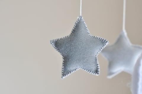 星 刺繍 裁縫 ハンドメイド