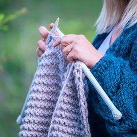 編み物 ハンドメイド 手芸