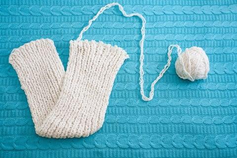 編み物 マフラー 手作り ハンドメイド 裁縫