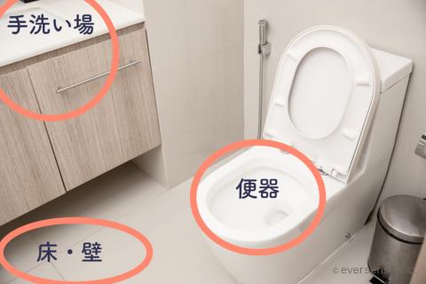 トイレ ウタマロクリーナー 掃除 説明