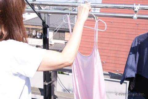 レーヨン 洗濯 干す